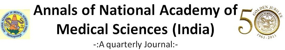 Annals of the National Academy of Medical Sciences (India)